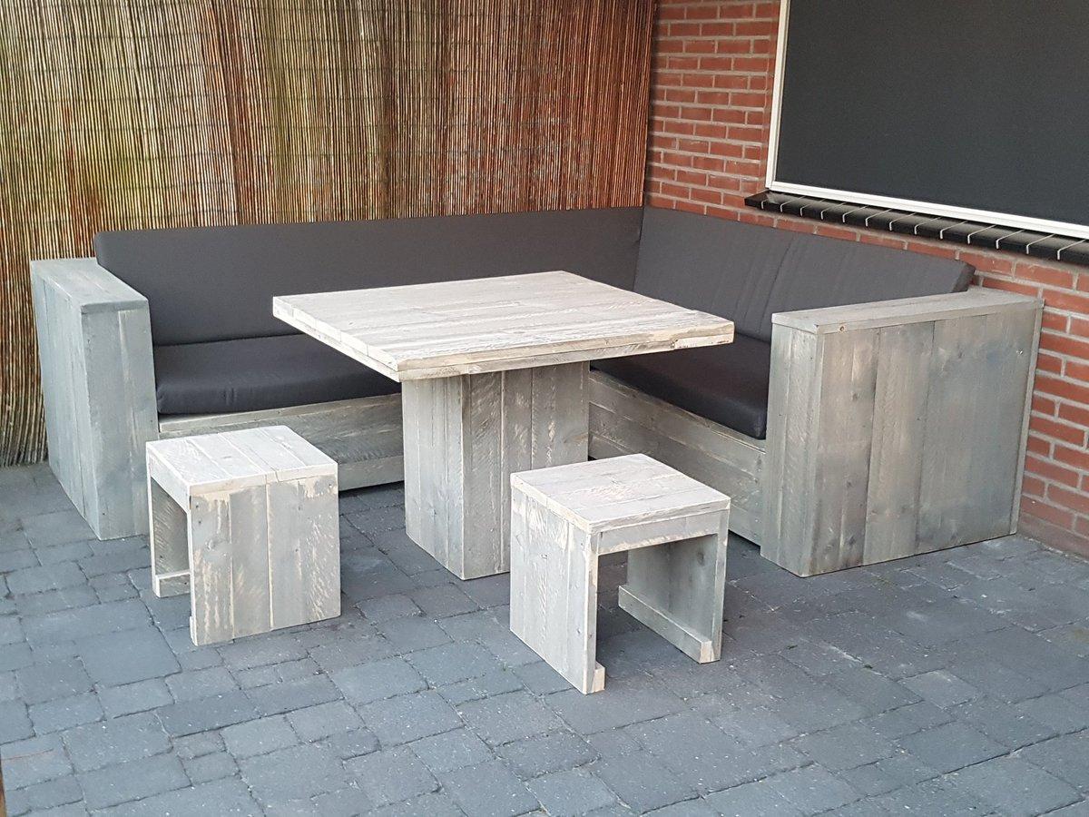 Dining Set Tuin : Bol low dining set lono persoons douglas lariks houten
