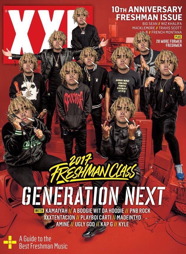 If XXL still cared about real hip hop their freshman cover would look more like this