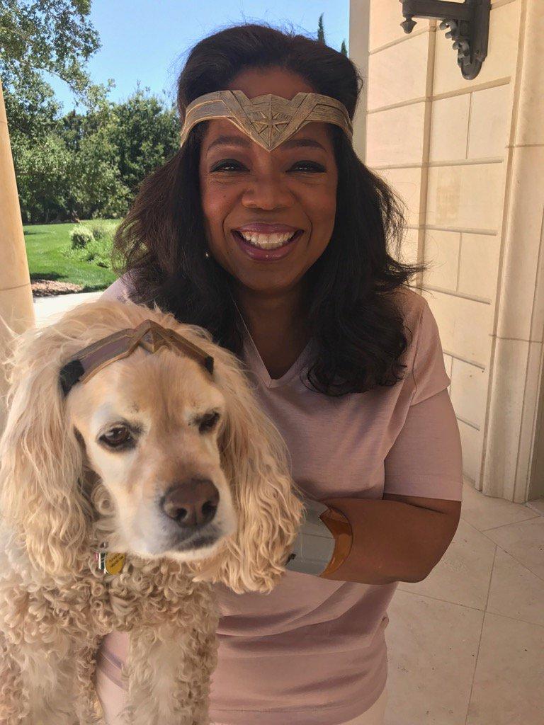 Sadie's not so sure about her wonderwomanness. #WonderWoman https://t.co/trErDCv5i0
