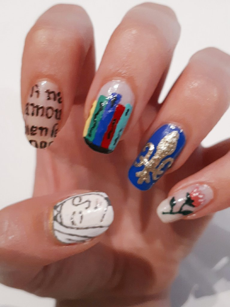 Anna Carruthers On Twitter Christine De Pizan Nails Inspired By