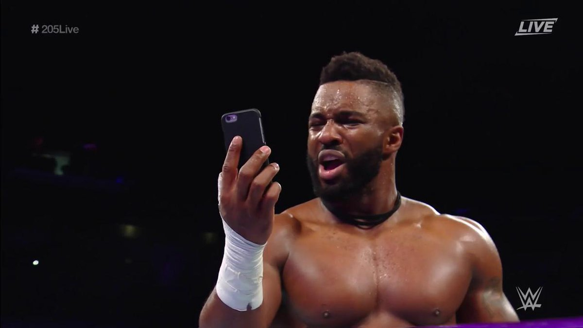 '@CedricAlexander just hung up on @AliciaFoxy on @WWENetwork!' - @WWEG...