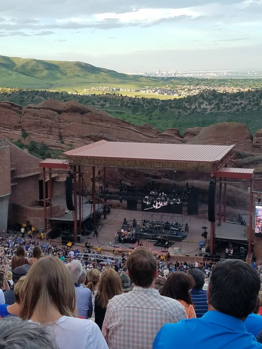 I&#39;m seeing the Doobie Bros and Chicago at the Red Rocks tonight! What concerts are you seeing this summer? #listentothemusic <br>http://pic.twitter.com/o41IQJcHG5