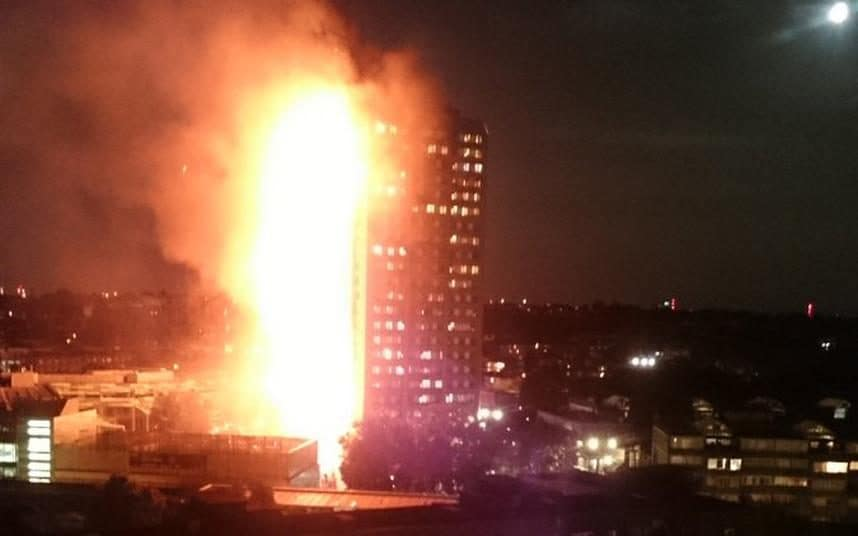 In the aftermath of huge fire that engulfed 24-storey Grenfell Tower in London, reports show that several people died while more than 50 in hospital.
