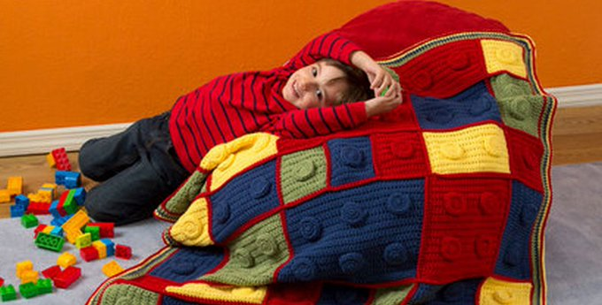 Lego Crochet Blanket Pattern Youtube Video Instructions