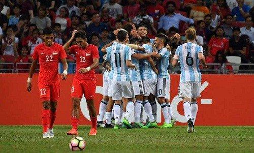 Video: Singapore vs Argentina