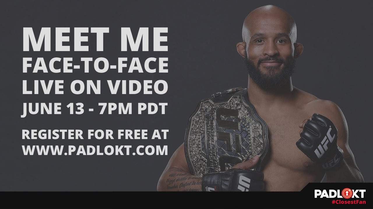 Talk with me live via video on https://t.co/YKKEoGy0Sb tonight 7pm PDT. Be my #ClosestFan on @padlokt https://t.co/6upEqGr0iM
