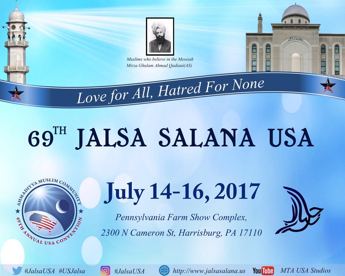 Image result for ahmadiyya usa jalsa salana 2017
