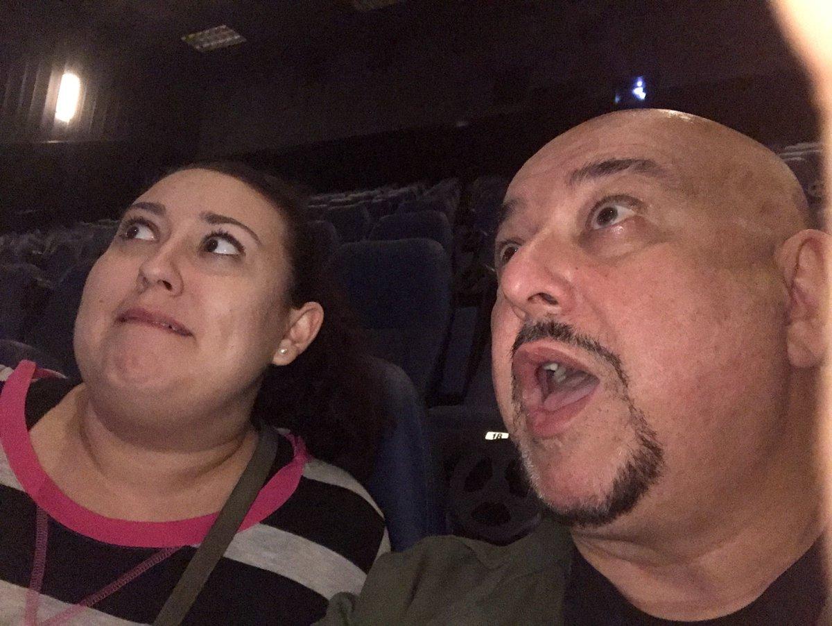 #talkingpictures #flash1tv #criticsscreening #47metersdown with my daughter Katie  #dvdme #dvdnetflix #geekflix  #sharks #scarysharks<br>http://pic.twitter.com/MJzHV3xVB9