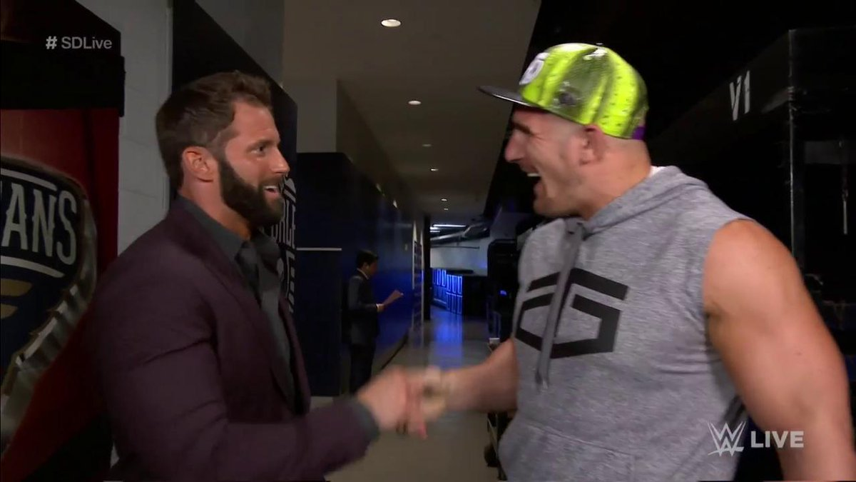 Image result for Zack ryder return on SmackDown Live