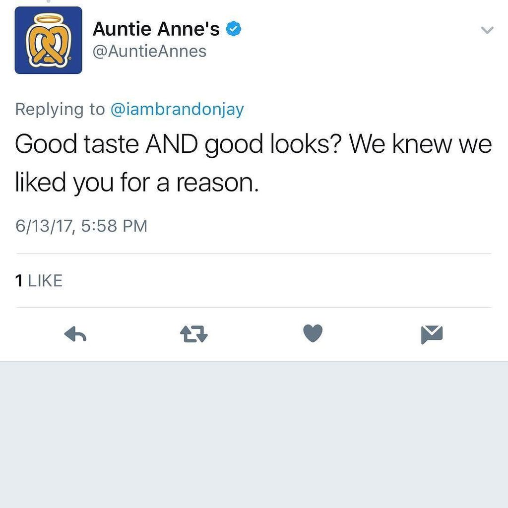 Now who says that Brands will not notice you? Well all I have to say is they lied lol #auntieannes  #branding #endorsements #love #iambrand…<br>http://pic.twitter.com/XdemRqOs2H