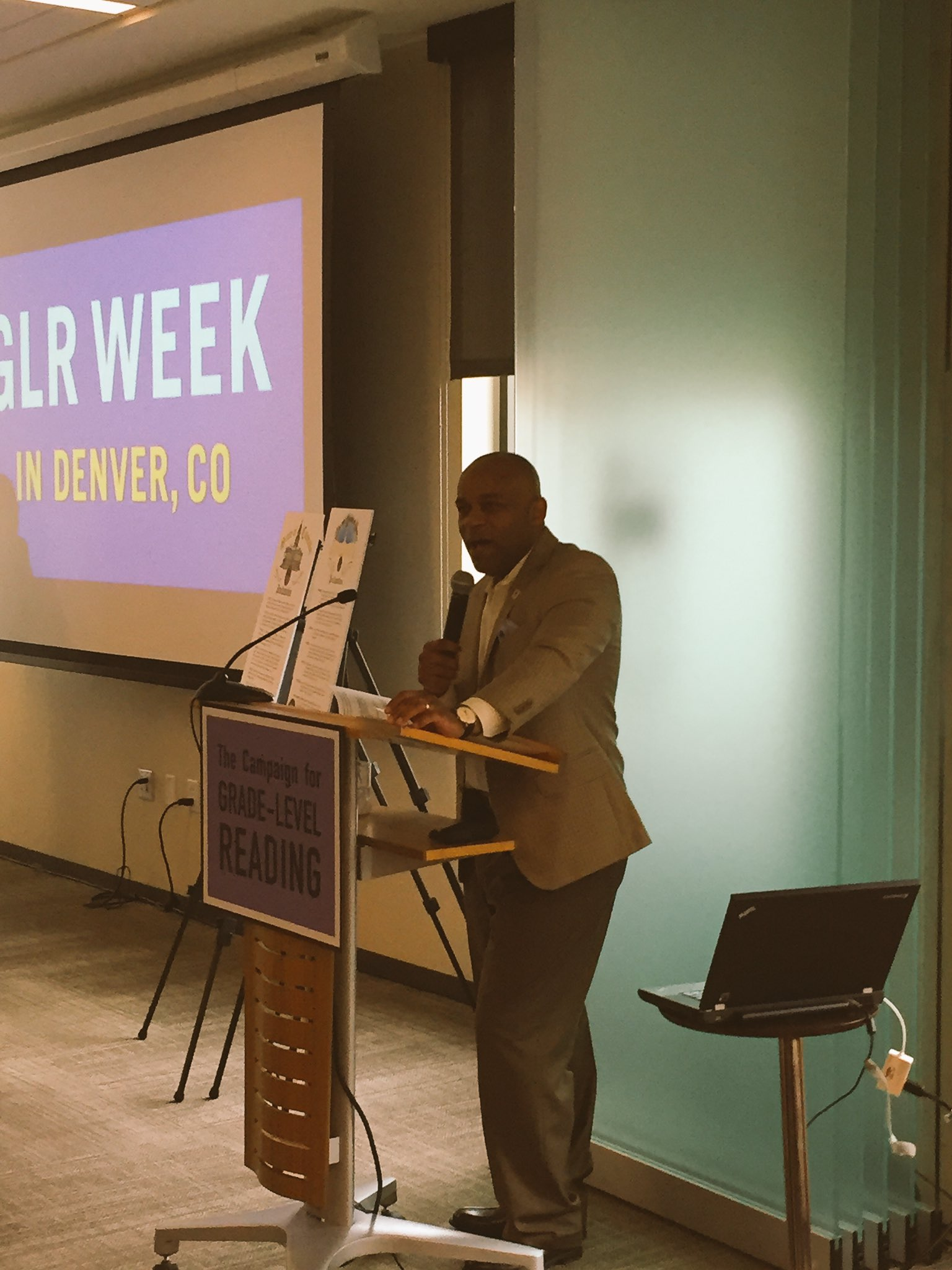 Regardless of what neighborhood a child comes from, they deserve the right to enter school ready to learn. - @MayorHancock #GLRWeek https://t.co/w1UcRy66lQ
