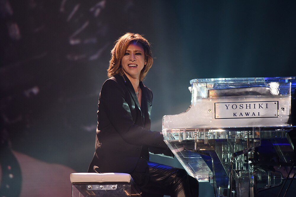 I can feel your happiness when you are &quot;home&quot; (on stage). l miss your charming smile dear @YoshikiOfficial  #TeamYoshiki #WeAreX<br>http://pic.twitter.com/T8VwFJy5JD