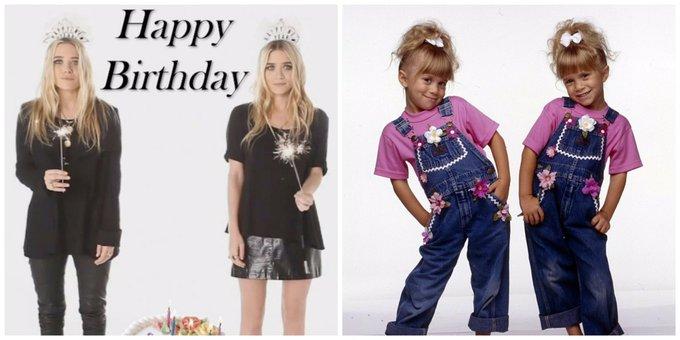 Happy birthday to Mary-Kate, and Ashley Olsen!!!