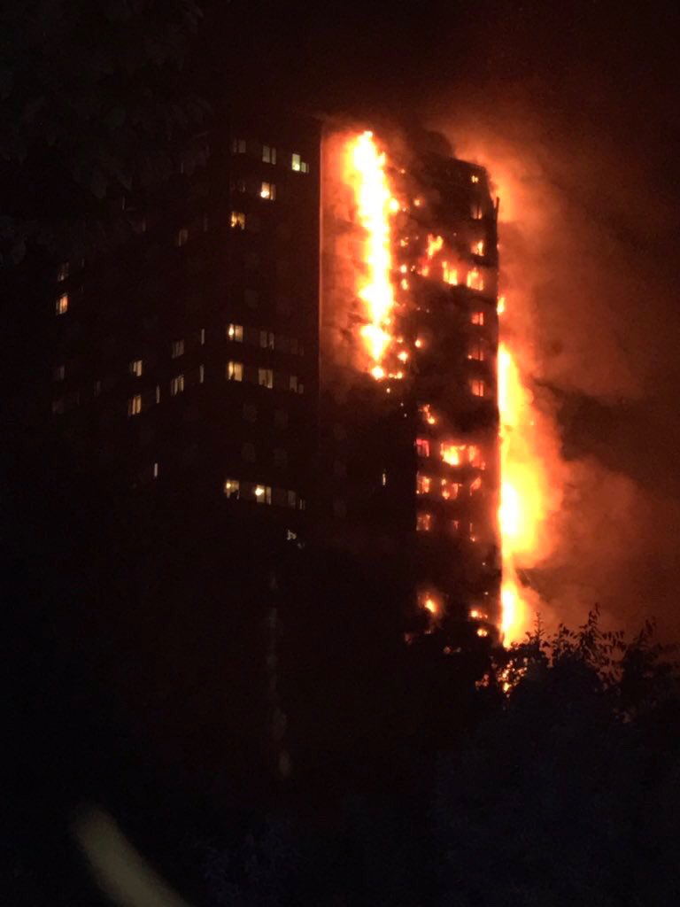 Thumbnail for Deadly fire engulfs London tower
