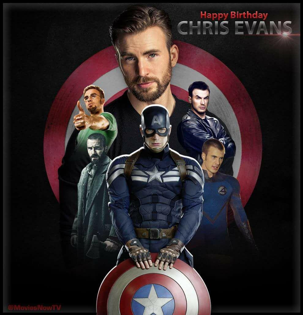 Happy Birthday Chris Evans!