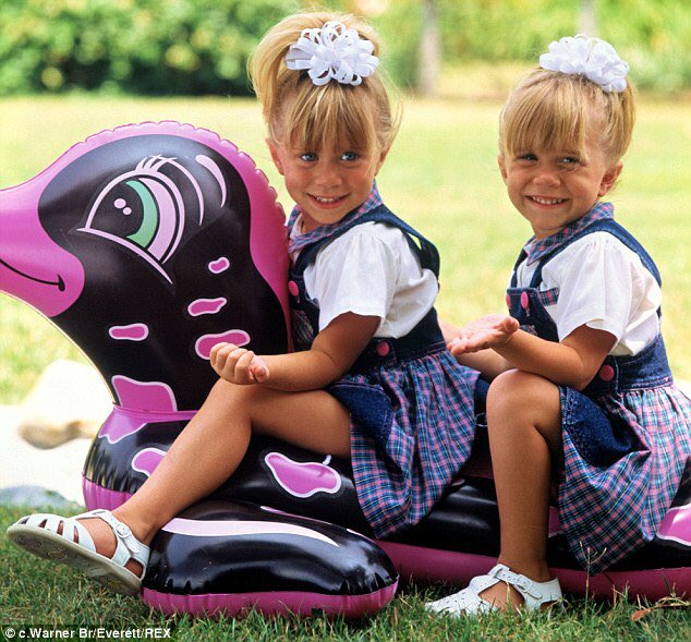 Happy 31st Birthday to Mary-Kate and Ashley Olsen!  True icons and inspirations