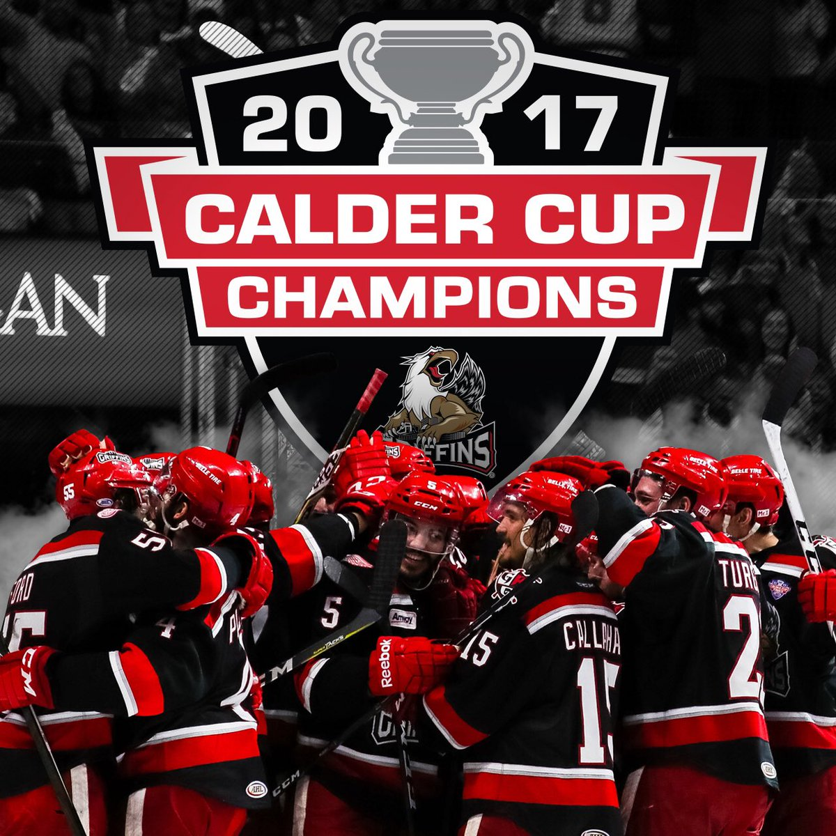 2017 CALDER CUP CHAMPIONS! https://t.co/IxJQpK9y7O