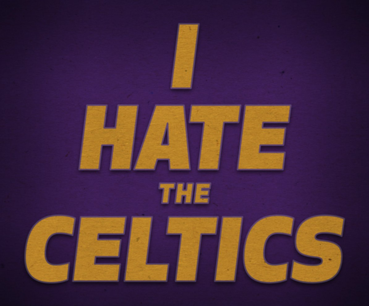 Where are the @Lakers fans at?!  RT if you still hate the Celtics #CelticsLakers https://t.co/1BppUgCDQn