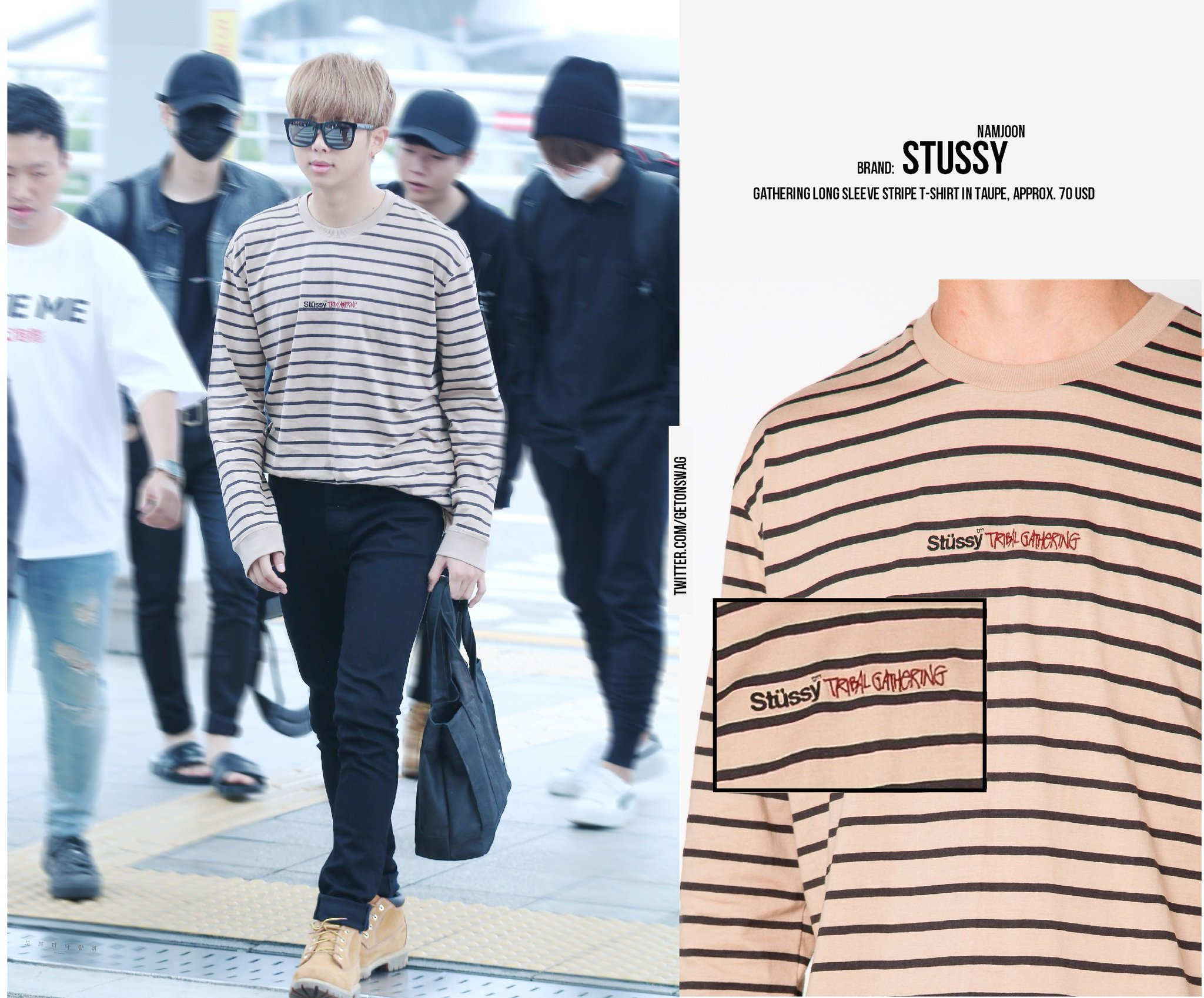 Beyond The Style On Twitter Namjoon Bts 170614 Airport 170613 Bts Twt Rapmonster