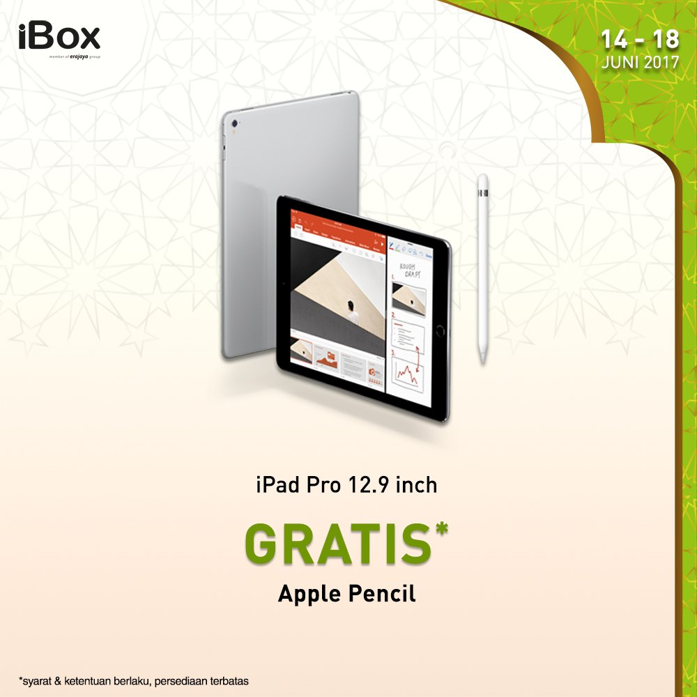 IBox On Twitter June Weekly Promo Buy IPad Pro 129 Inch And Get