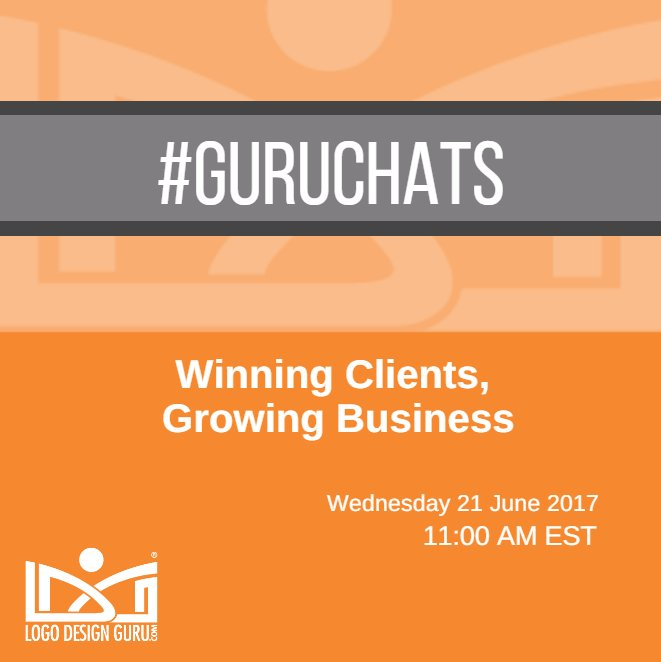 """Hi Twitteratis! 📢 Share your experience on """"Winning clients, growing business"""" with our guests on 21 June 2017 at 11 AM EST #GuruChats 💬 https://t.co/IB58CxY2nd"""