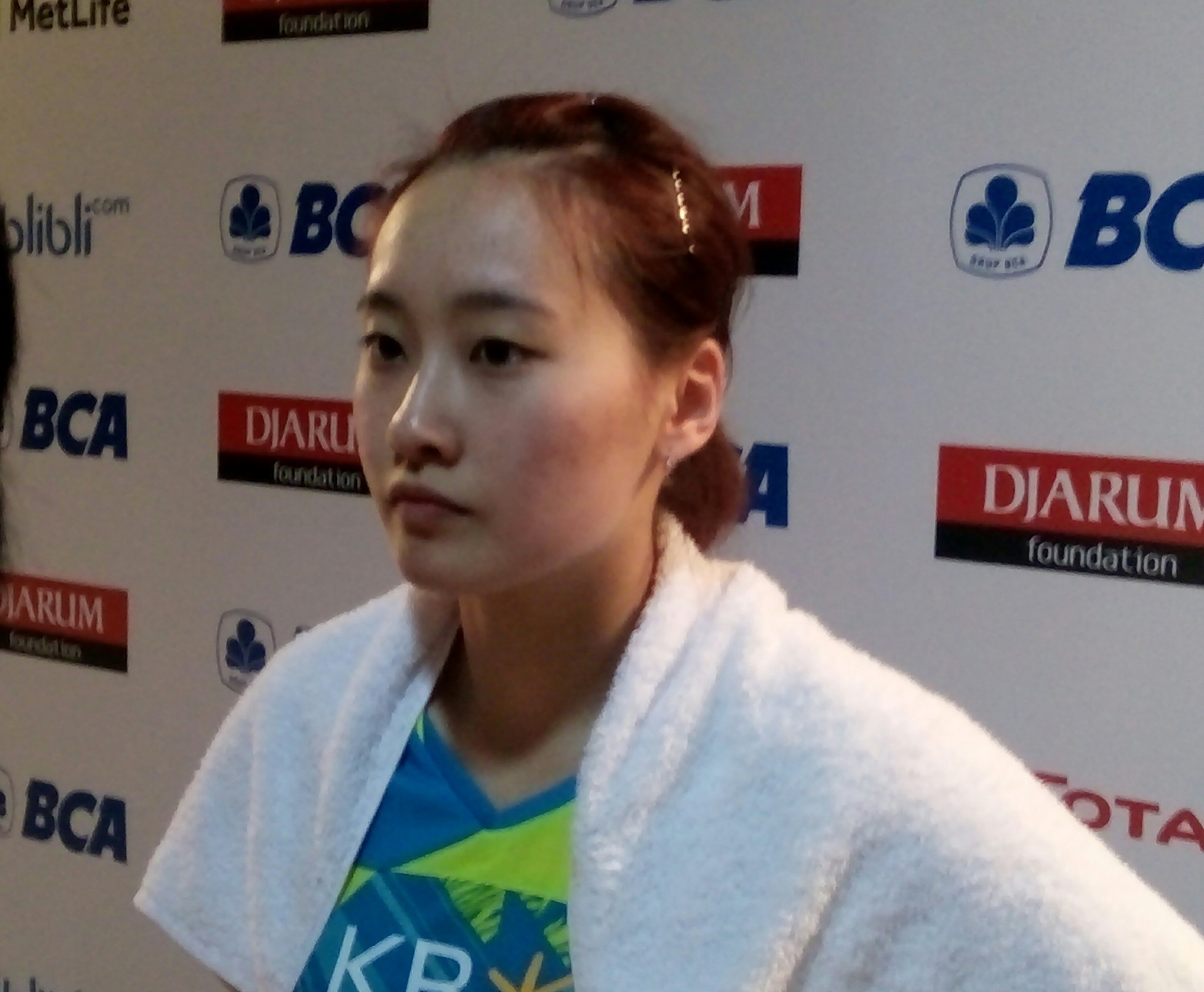 "BADMINTON INDONESIA on Twitter ""Chae Yoo Jung BCAIndonesiaOpen"