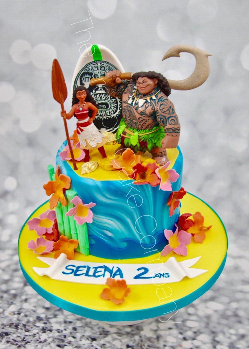 French Cake Company On Twitter Vaiana  Maui Birthday - Maui birthday cakes