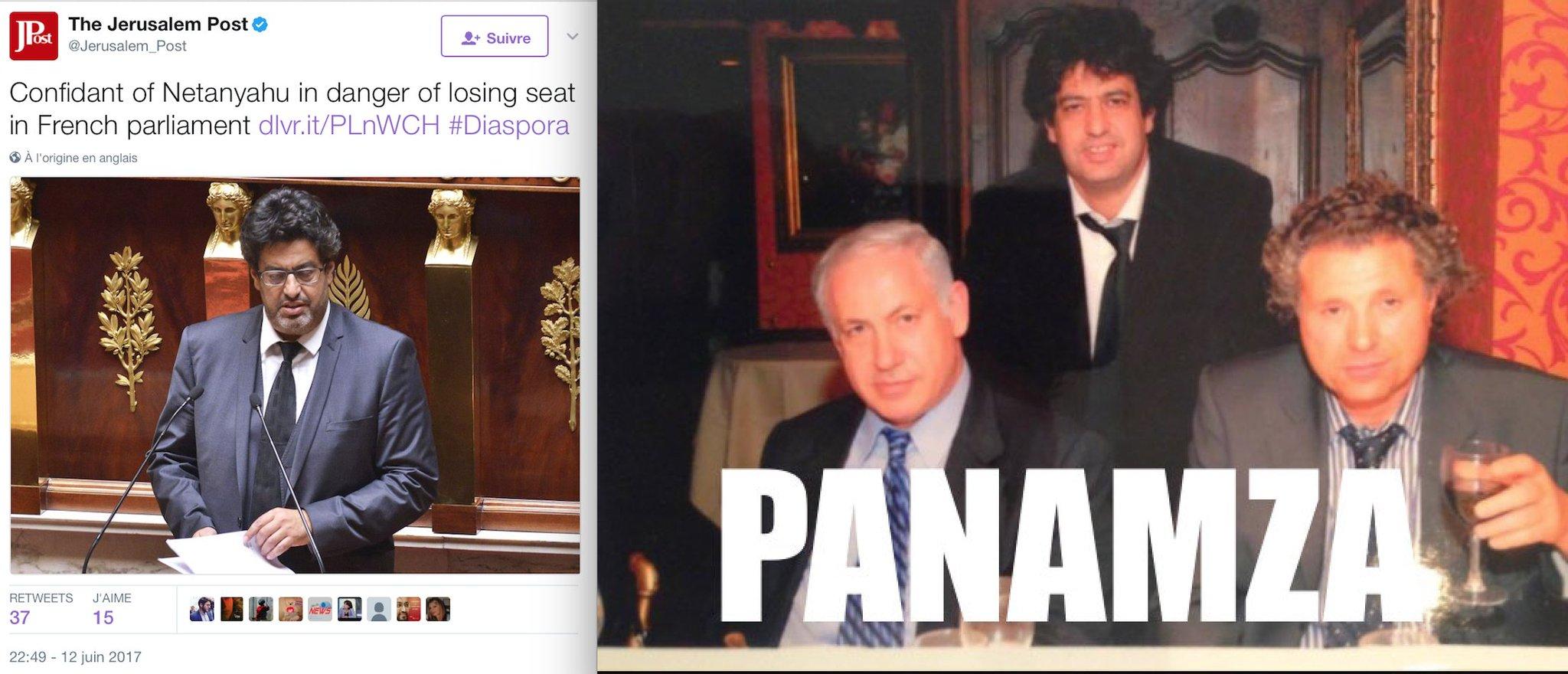 Agent n°1 de Netanyahou en France, le député Meyer Habib est donné perdant au second tour