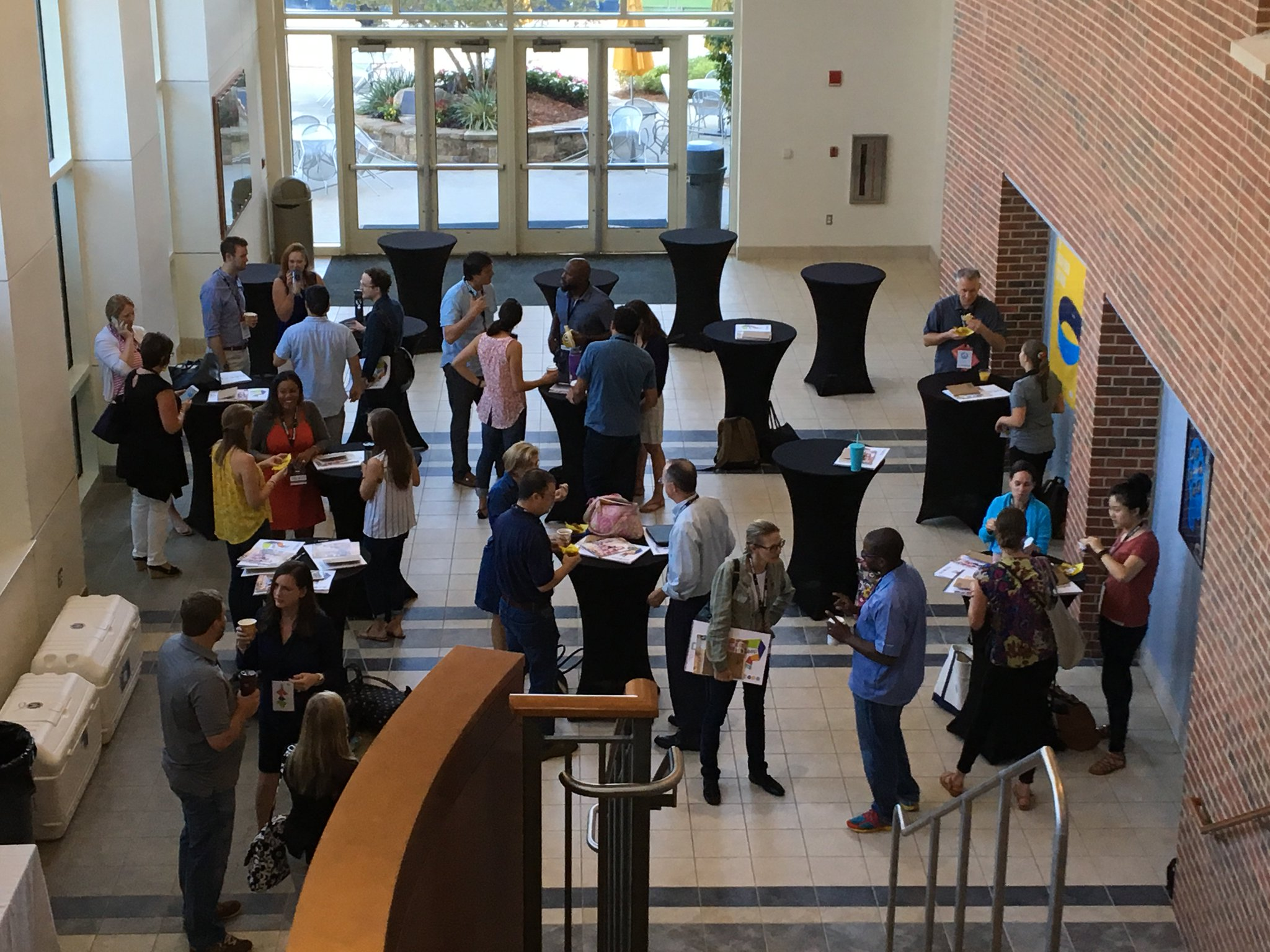 The #fuse17 crowd starts to gather this morning for 3-day immersive in #designthinking https://t.co/xcmpai7VIl
