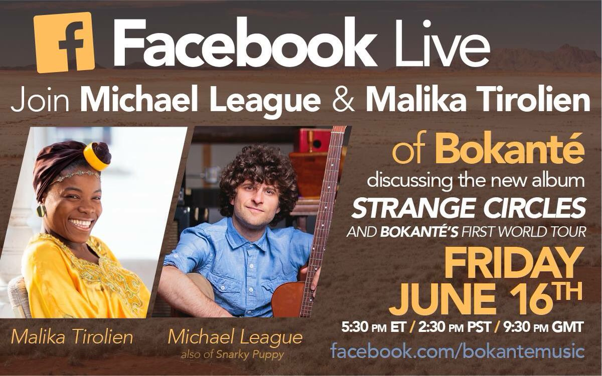 Learn more about my new band @BokanteMusic on Friday!