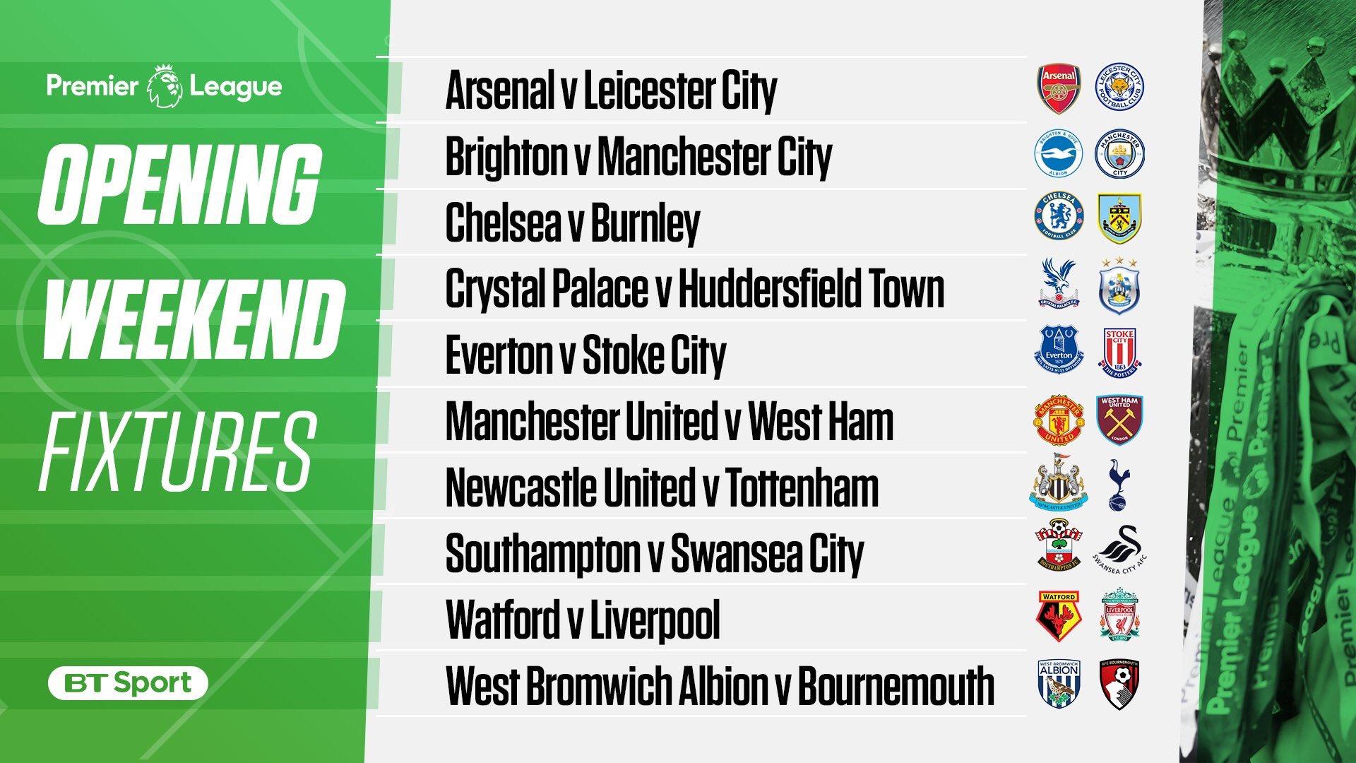 Opening weekends fixtures... https://t.co/3DcXDjyt6w