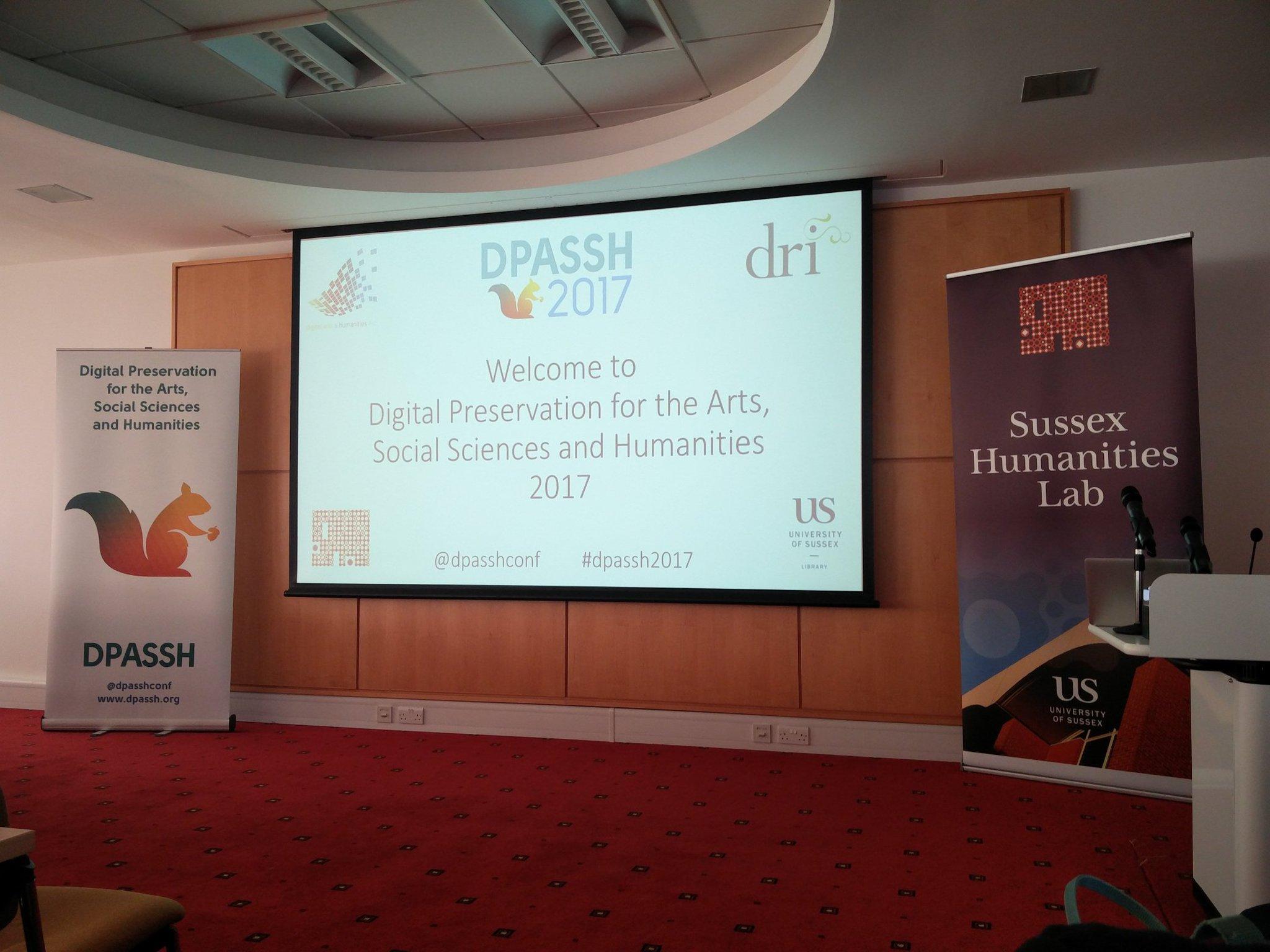 Yay! We've arrived #dpassh2017 got a sneak preview of Lizzy Jongma's presentation, sounds great! https://t.co/p7GFxxobim