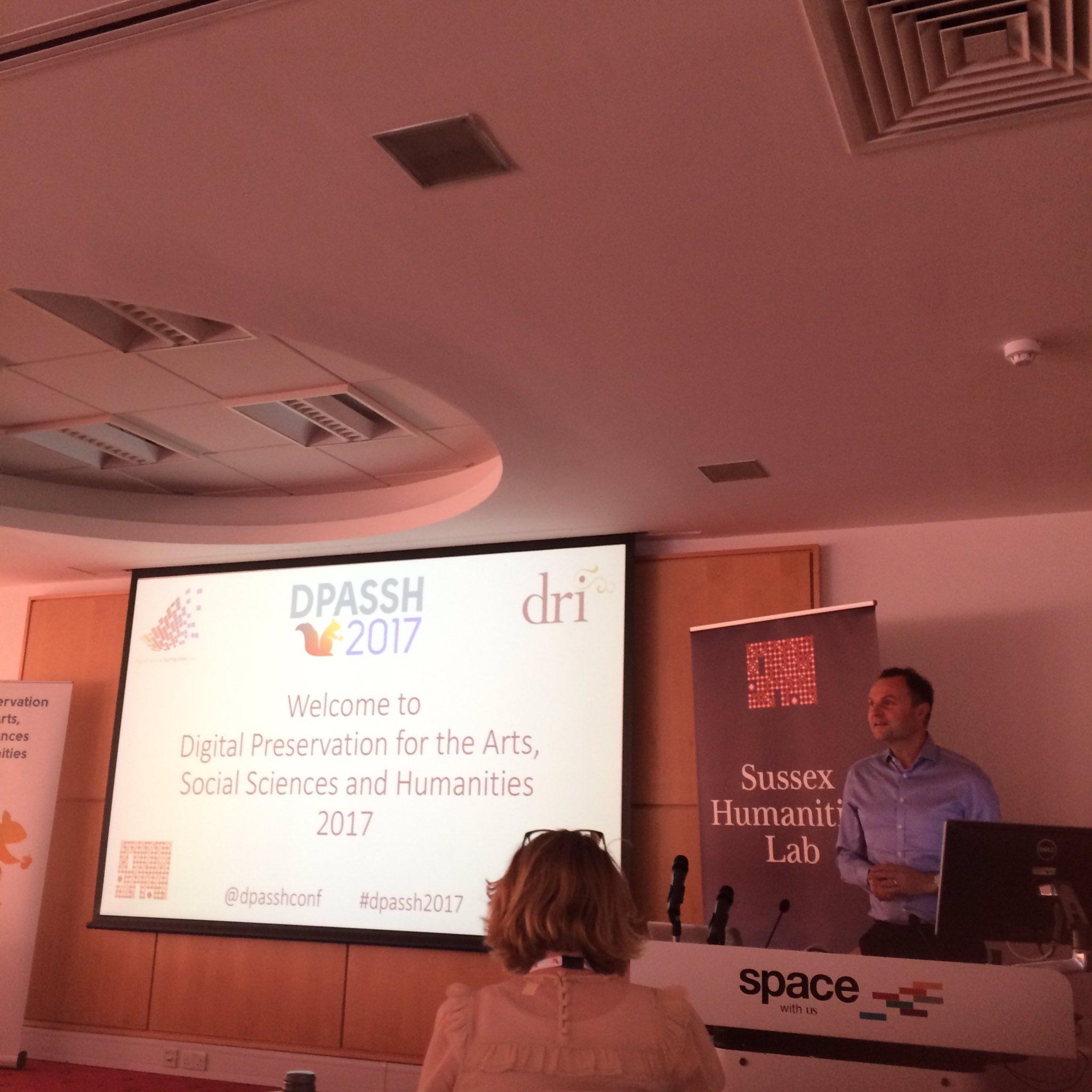 Professor Adam Tickell, Vice Chancellor of @SussexUni, speaking at opening of #DPASSH2017 https://t.co/T8CdRGqdEc