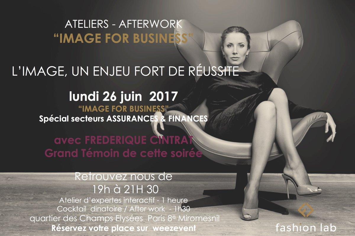 """#Event Atelier-afterwork """"IMAGE FOR BUSINESS""""le 26/06 #Paris  L'image un enjeu fort de #réussite #PersonalBranding  https://www. weezevent.com/ateliers-after work-image-for-business &nbsp; … <br>http://pic.twitter.com/6cnr98PIeM"""