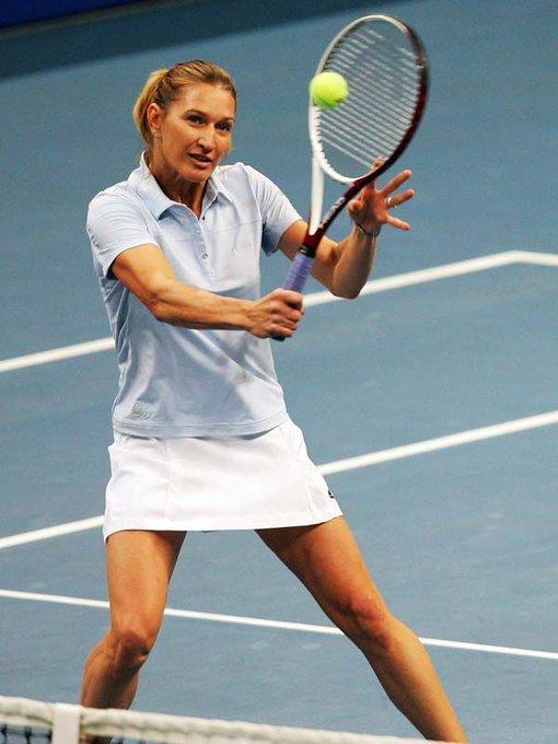 Today star Steffi Graf turns 48! She won 22 Grand Slam (7 - happy birthday, Steffi!