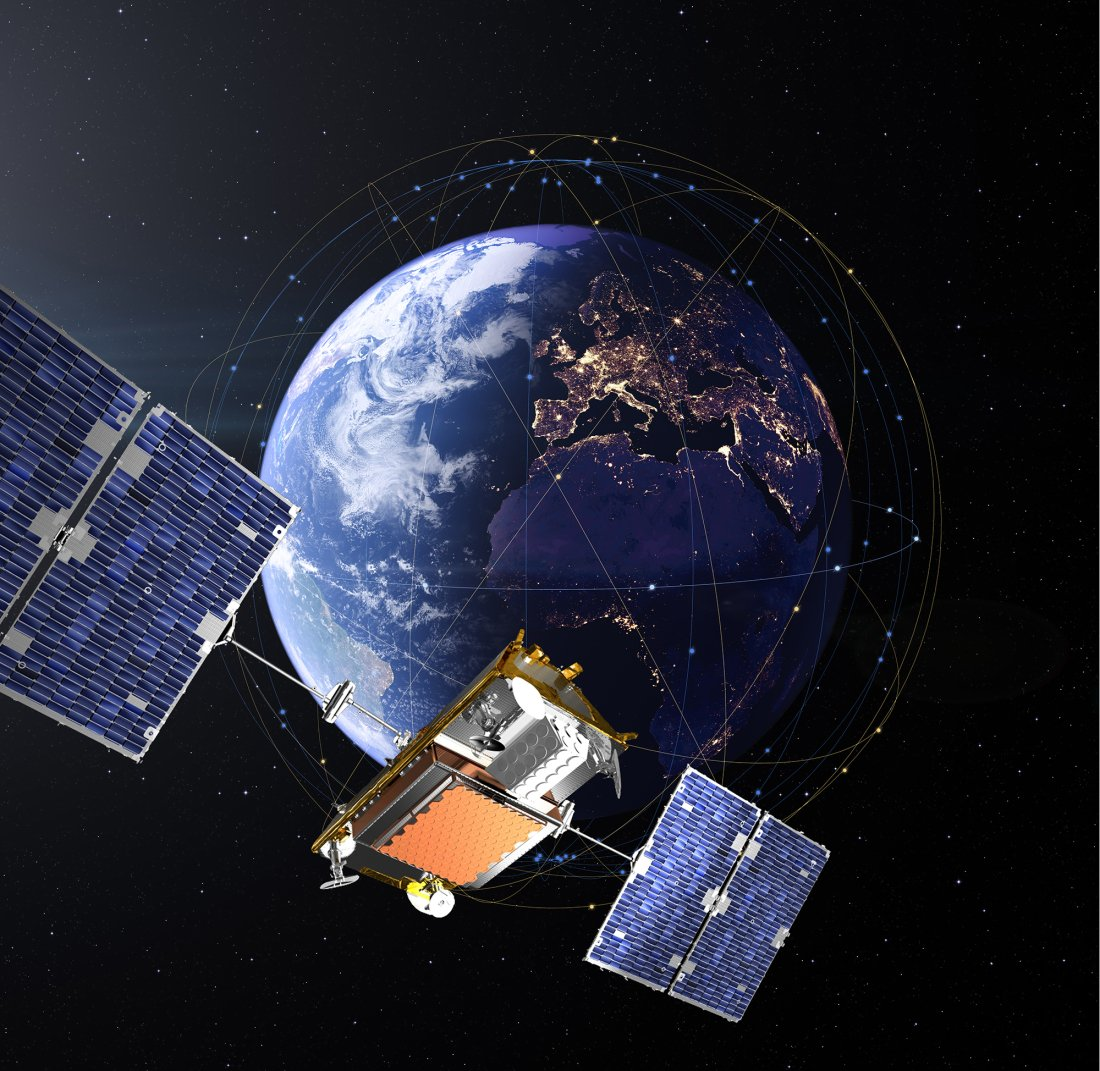 Картинки спутников связи