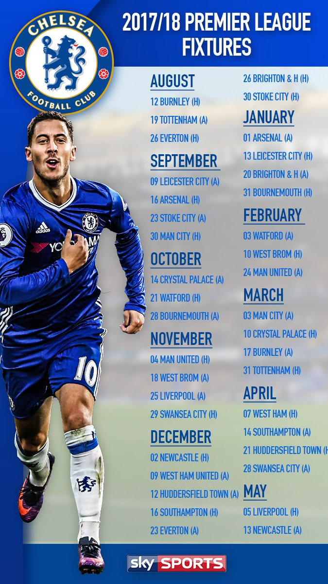 Chelsea Calendario.Calendario Chelsea Calendario 2020