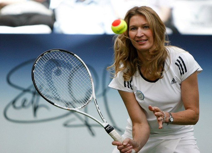 Very happy birthday to the legend - the greatest tennis player of all time, and my all time favourite Graf