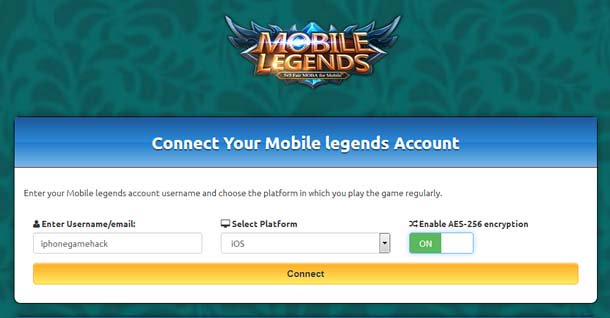 mobile legend hack tool battle point and diamond generator