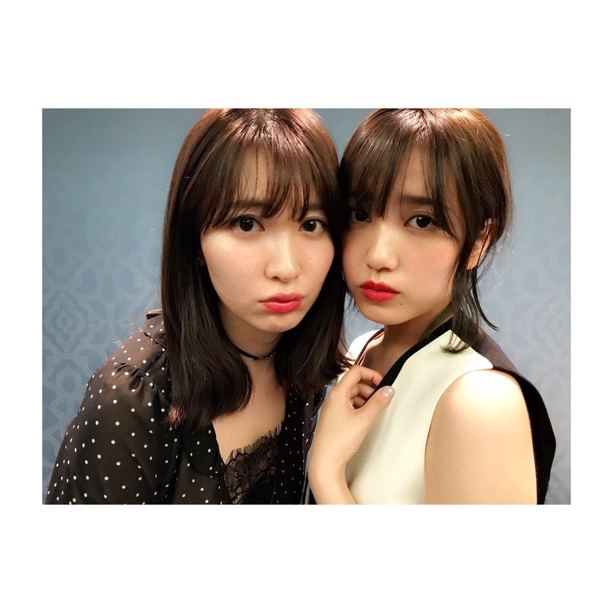 小嶋陽菜と加藤玲奈