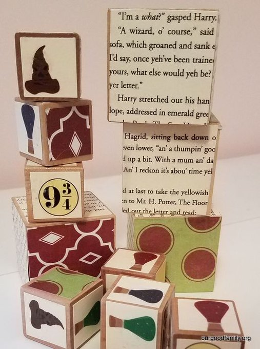 Harry Potter Wizard Building Blocks
