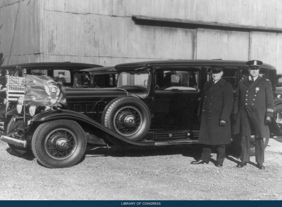 """White House History on Twitter: """"President Herbert Hoover's fleet ..."""