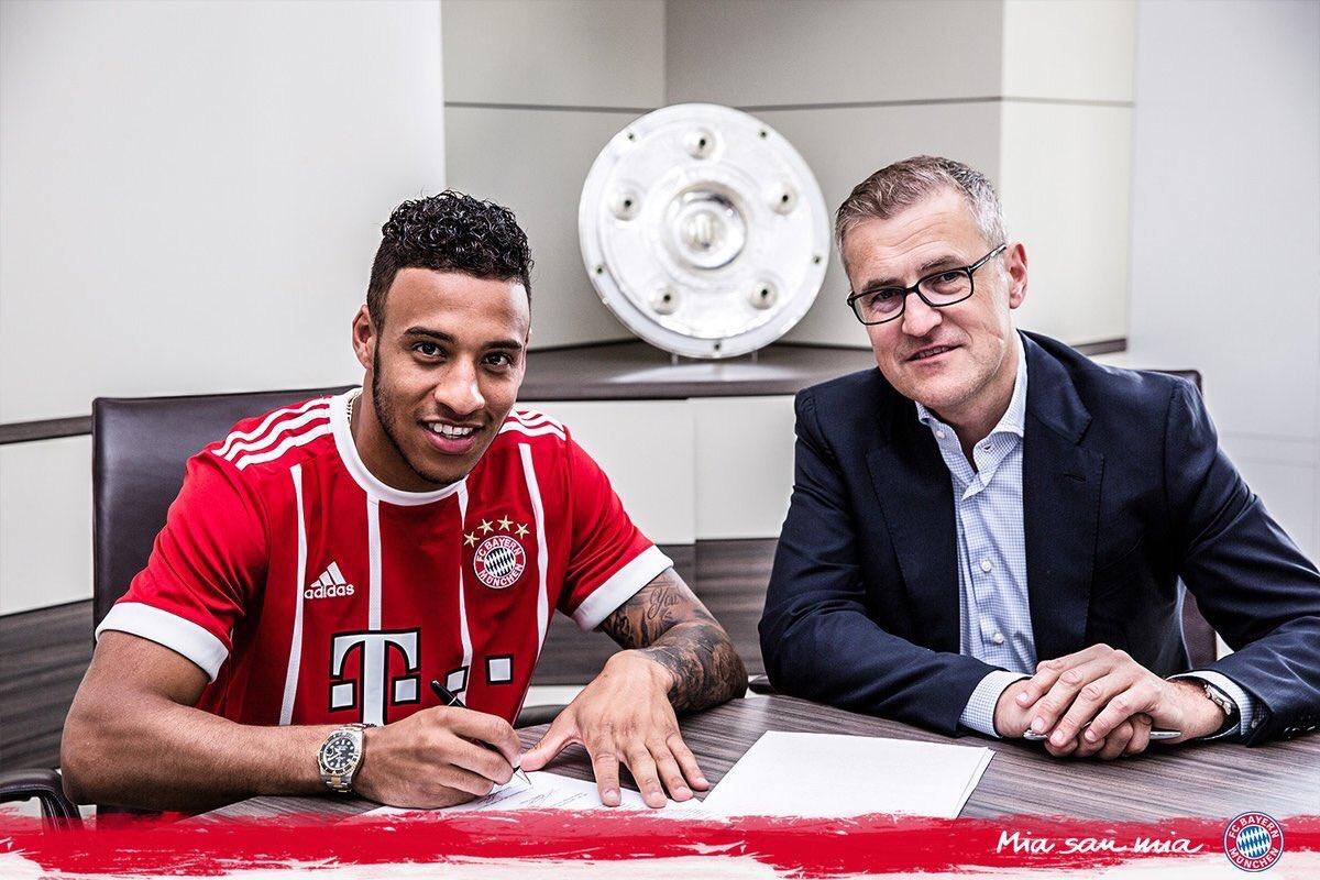 OFICIAL: Tolisso é o novo reforço do Bayern de Munique.