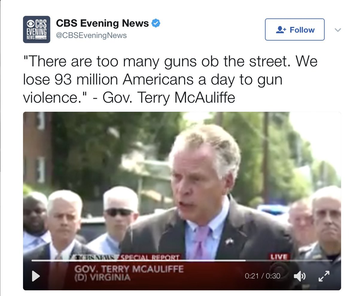 I'm confused why @CBSNews deleted this tweet. This is literally what the Governor said. https://t.co/Xf3uCGYG6V