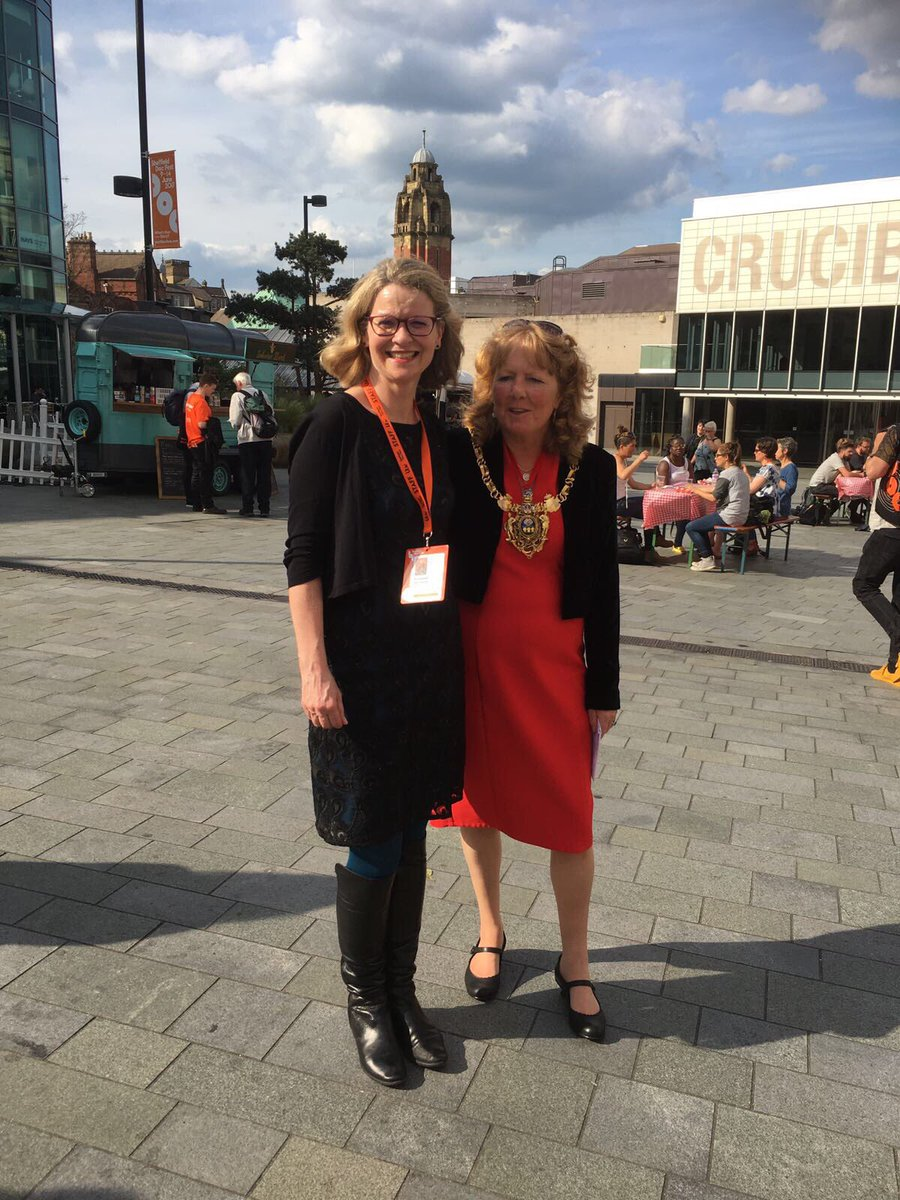 "Sheffield Doc/Fest on Twitter: ""Cllr @ammurphy7 & @LizMc_Docs welcome all to get together @ Doc/Fest Exchange on Tudor Square for The Great Get Together ..."