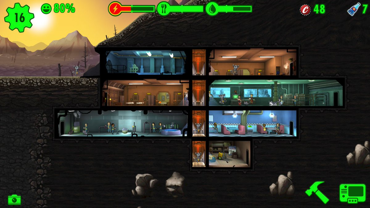 Fallout shelter playstore - c