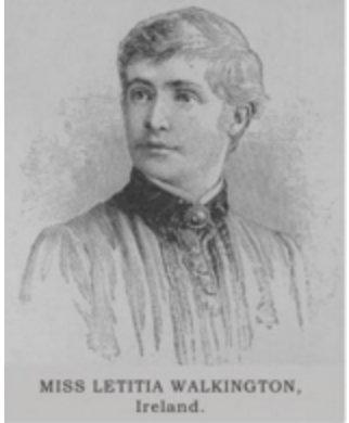 "Next 100 Years on Twitter: ""1888 Laetitia Alice Walkington 1st ..."