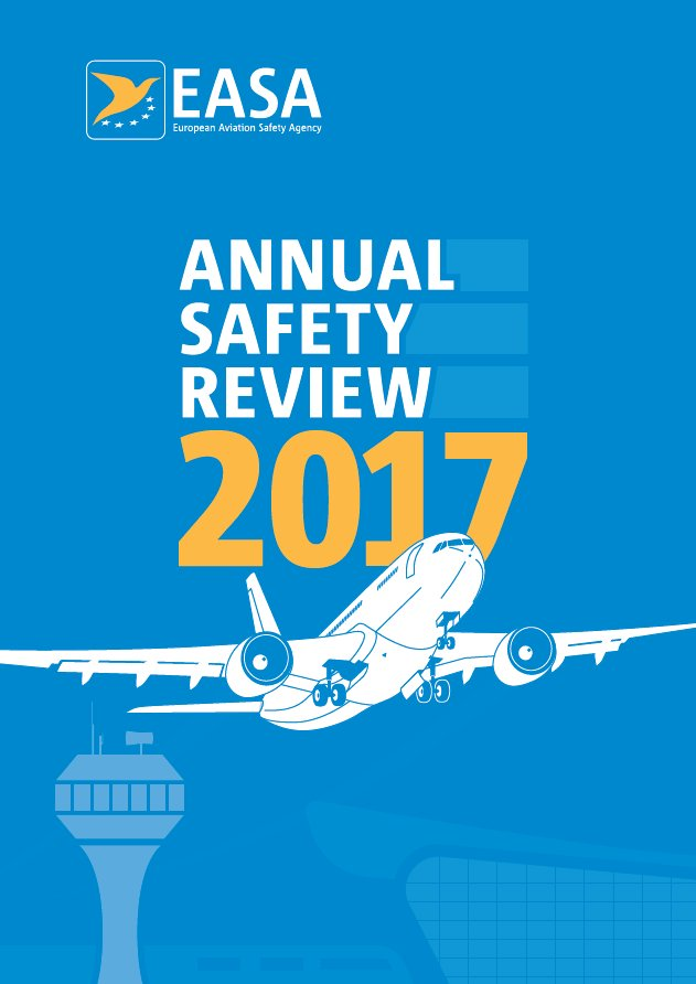 Proud to have contributed to @EASA 's 2016 #GeneralAviation safety analysis in Europe. We continue to work to make GA flying even safer!