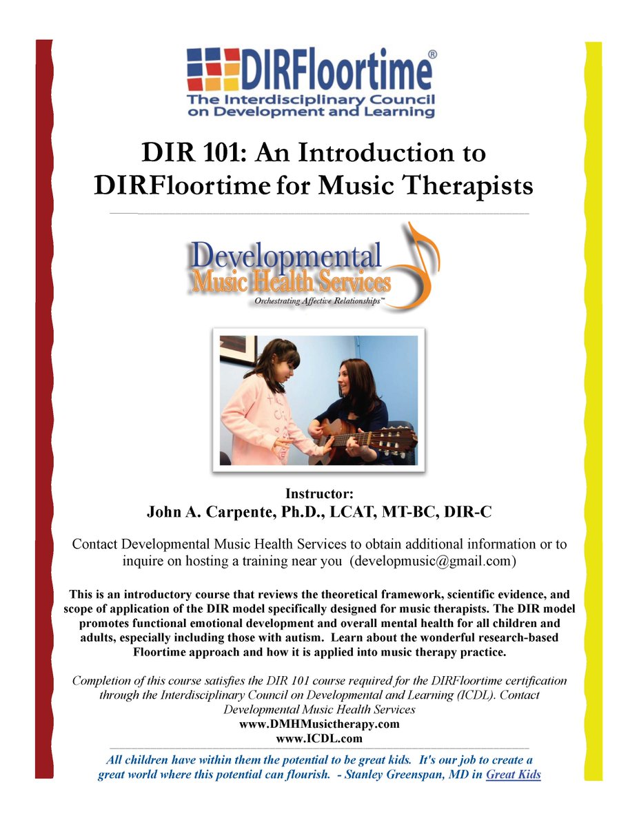 John A Carpente On Twitter Hi Musictherapy Peeps Interested In