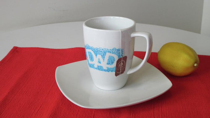 DIY: Celebrate the dad in your life with this homemade mug
